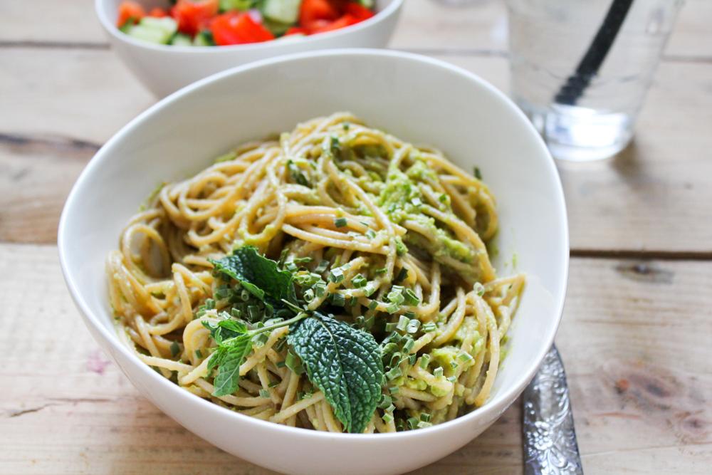 Foodblogger-Avocadocreme-Spaghetti-Rezept-2