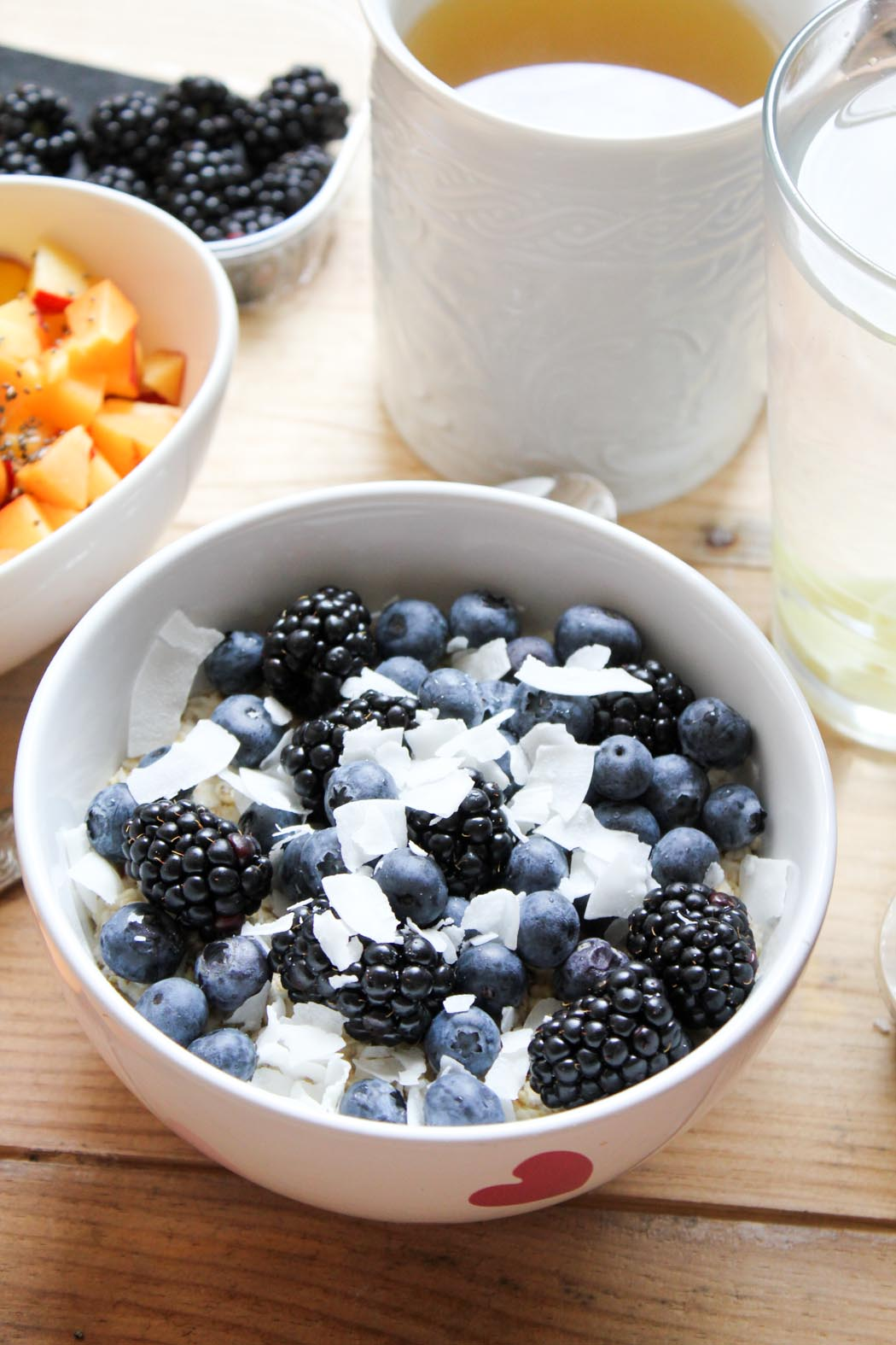 Lindarella-Foodblogger-Cleaneating-Oatmeal-Blueberry-Breakfastdream-2
