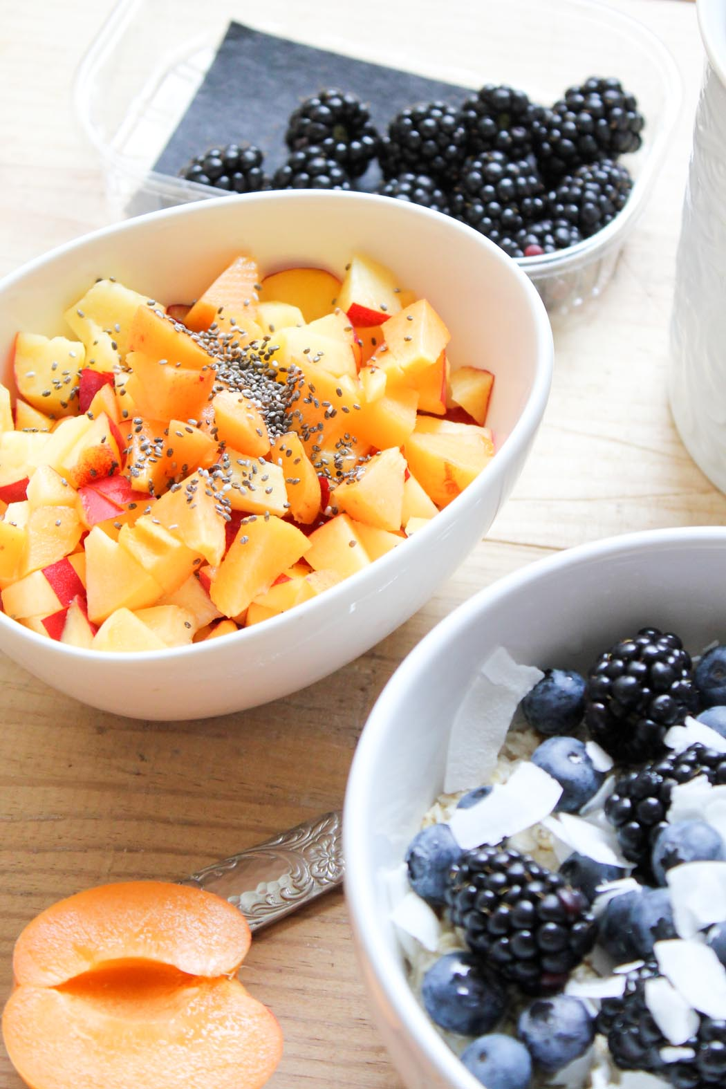 Lindarella-Foodblogger-Cleaneating-Oatmeal-Blueberry-Breakfastdream-3
