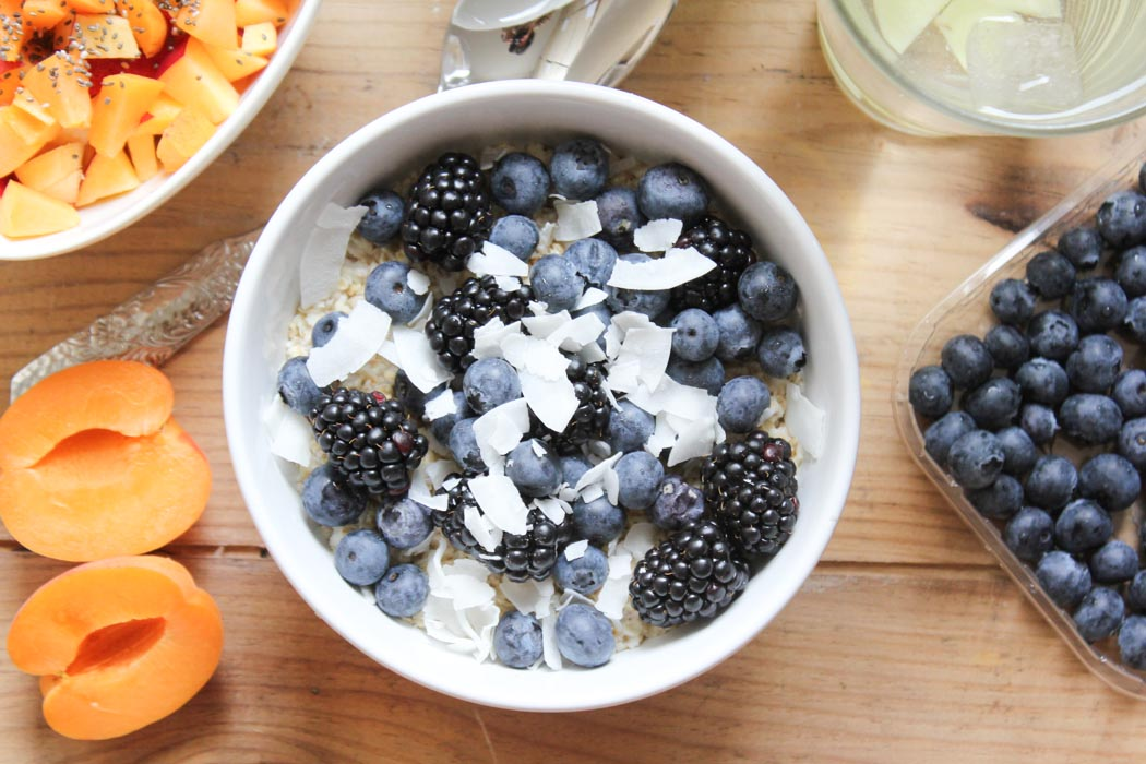 Lindarella-Foodblogger-Cleaneating-Oatmeal-Blueberry-Breakfastdream-5