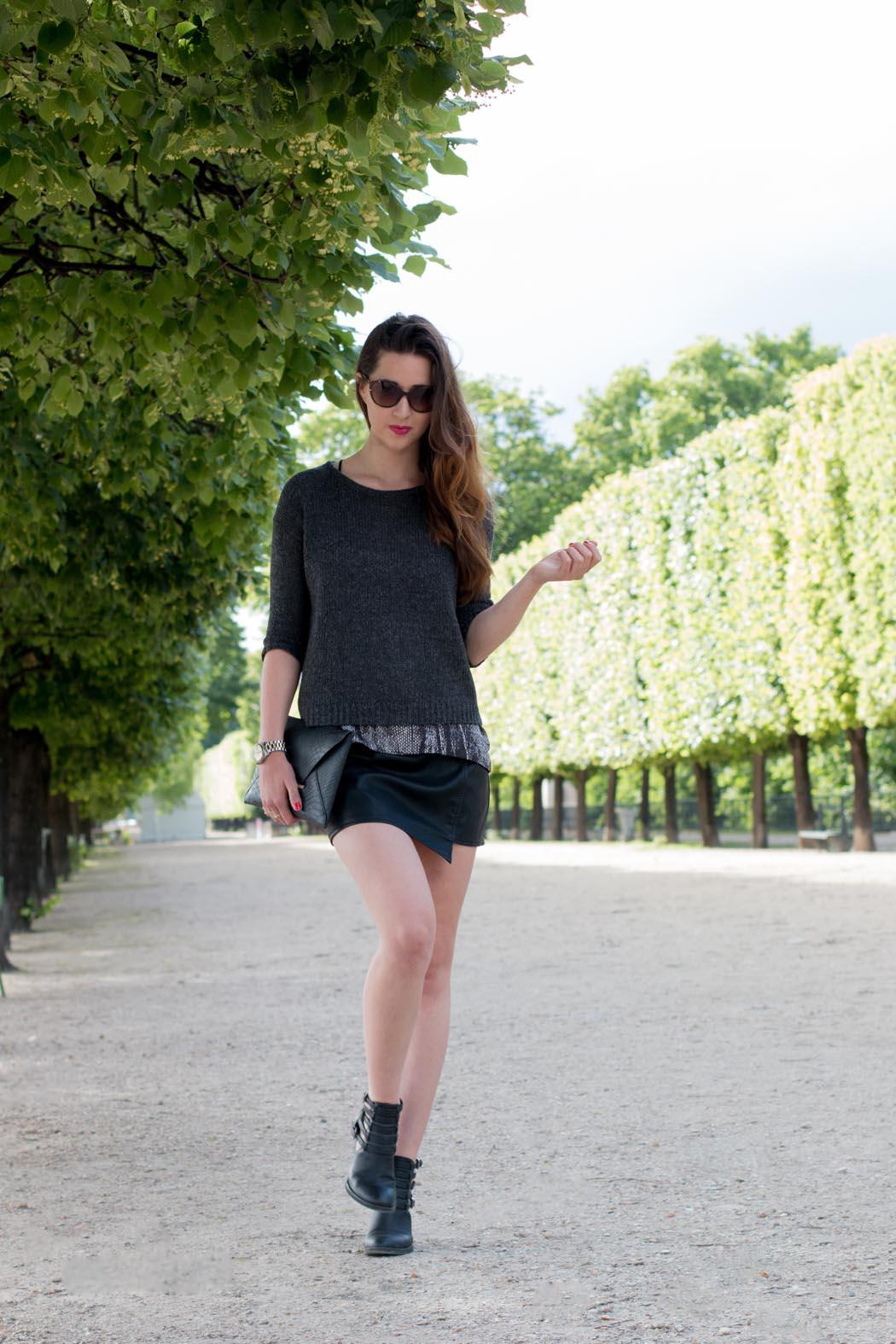 Lindarella-Paris-Fashionblogger-Michael-Kors-Bcbg-allblack-7