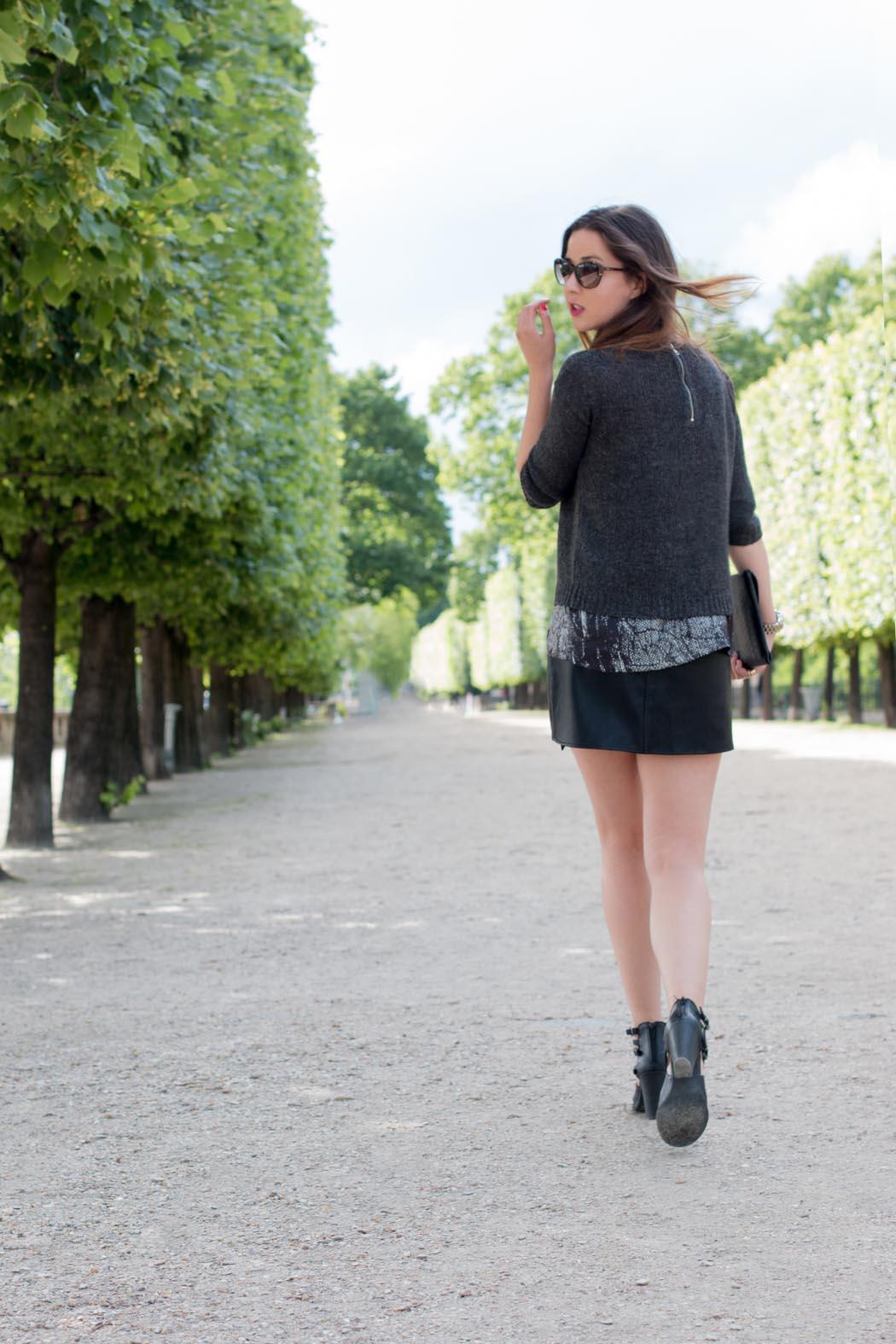 Lindarella-Paris-Fashionblogger-Michael-Kors-Bcbg-allblack
