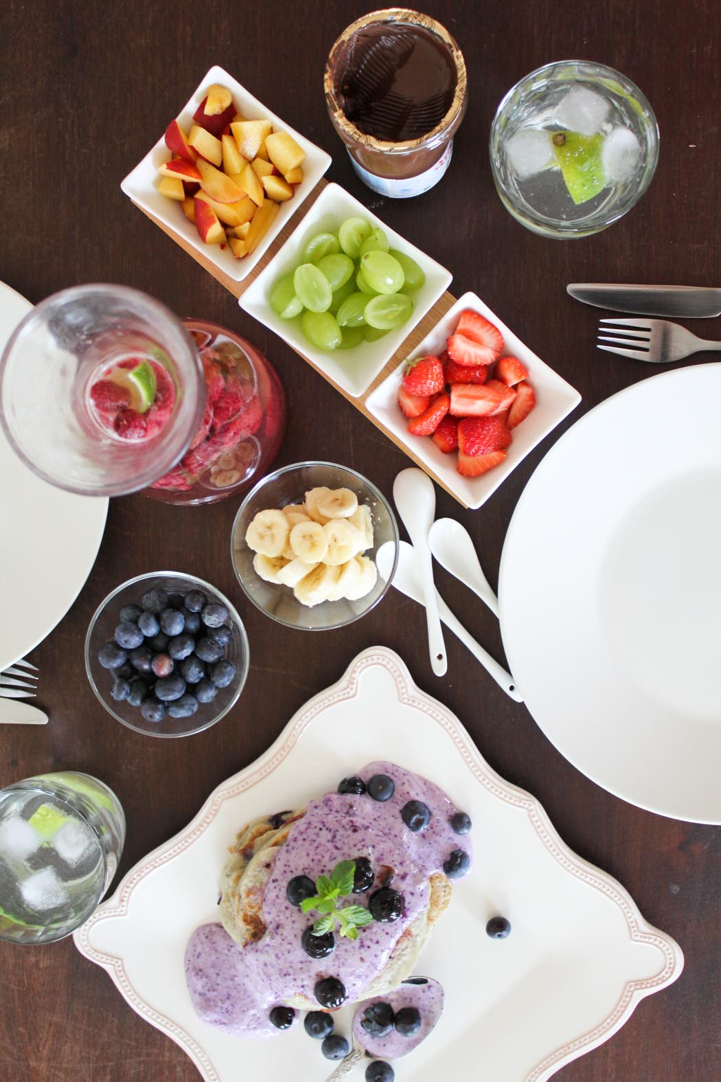Rezept-Lindarella-Fitnessblogger-Foodblogger-Blueberry-Pancakes-Breakfast--4
