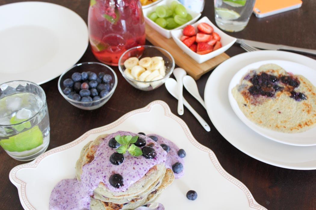 Rezept-Lindarella-Fitnessblogger-Foodblogger-Blueberry-Pancakes-Breakfast--6