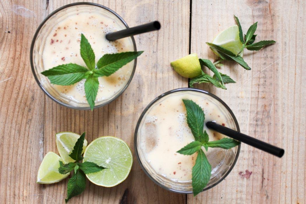 Rezept-Lindarella-Fitnessblogger-Foodblogger-Peach-Smoothie