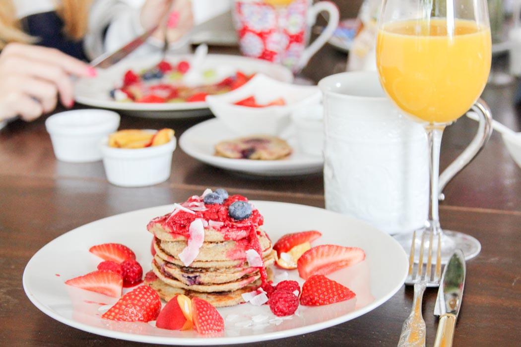 Rezept-Lindarella-Fitnessblogger-Foodblogger-Strawberry-Pancakes-Breakfast-4