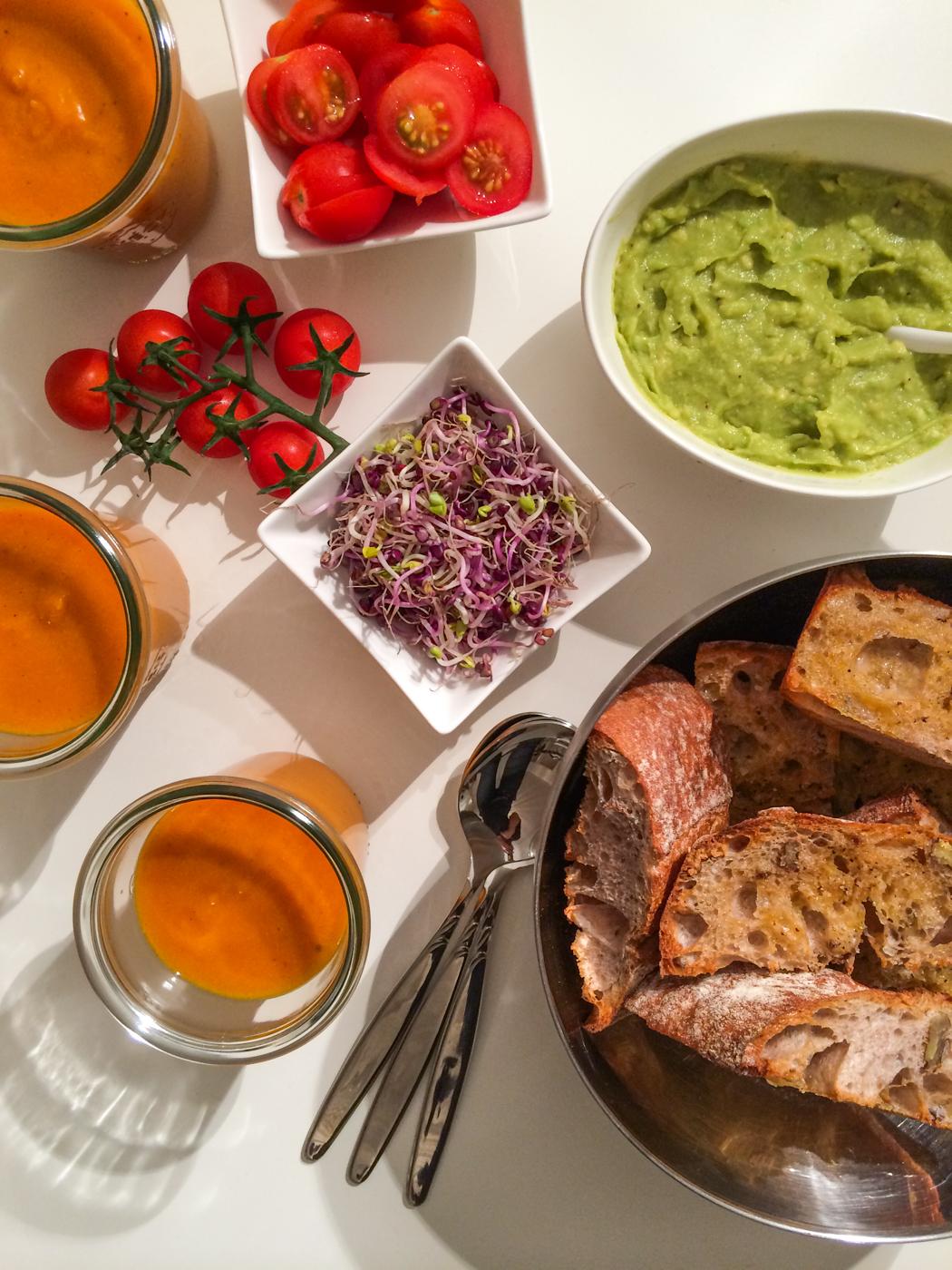 Kürbissuppe-Rezept-Knoblauchbaguette-Abendessenideen-Lindarella-1