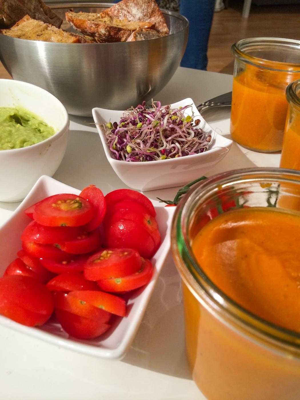 Kürbissuppe-Rezept-Knoblauchbaguette-Abendessenideen-Lindarella-5