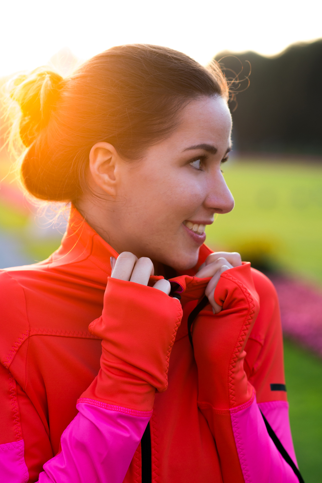 Laufoutfit-Adidas-Pink-Orange-Laufjacke-Fitnessblogger-München-7