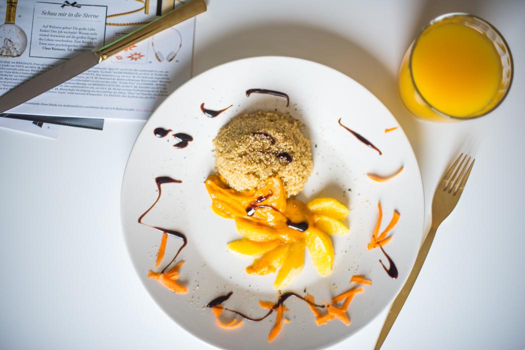 quinoa mit orangen k rbis creme lindarella fashion und fitness blog aus m nchen. Black Bedroom Furniture Sets. Home Design Ideas