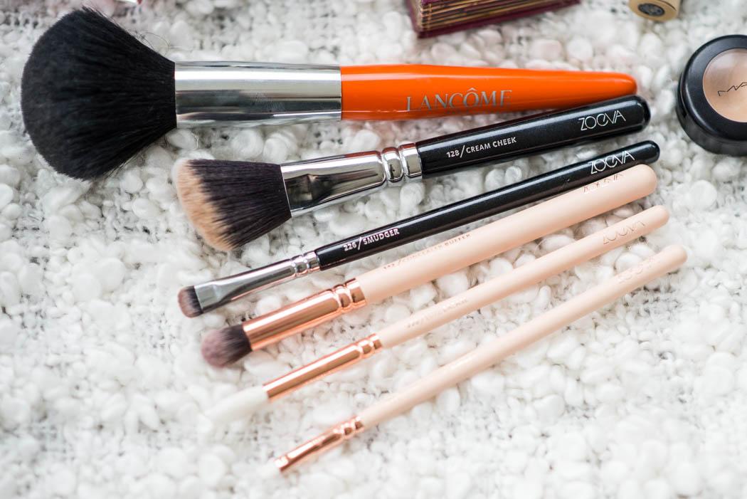 Beautyessentials-Fashionblogger-Lindarella-Beautyblogger-München-Deutschland-Zoeva-Pinseltest-Wimpernserum-Produkttest-2