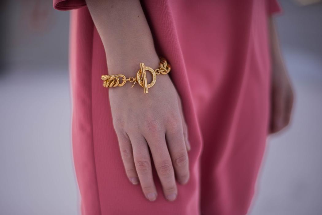 Lindarellla-Fashionblog-München-Fashionblogger-Deutschland-pinkes-Kleid-Zara-rote-Haare-Munich-2