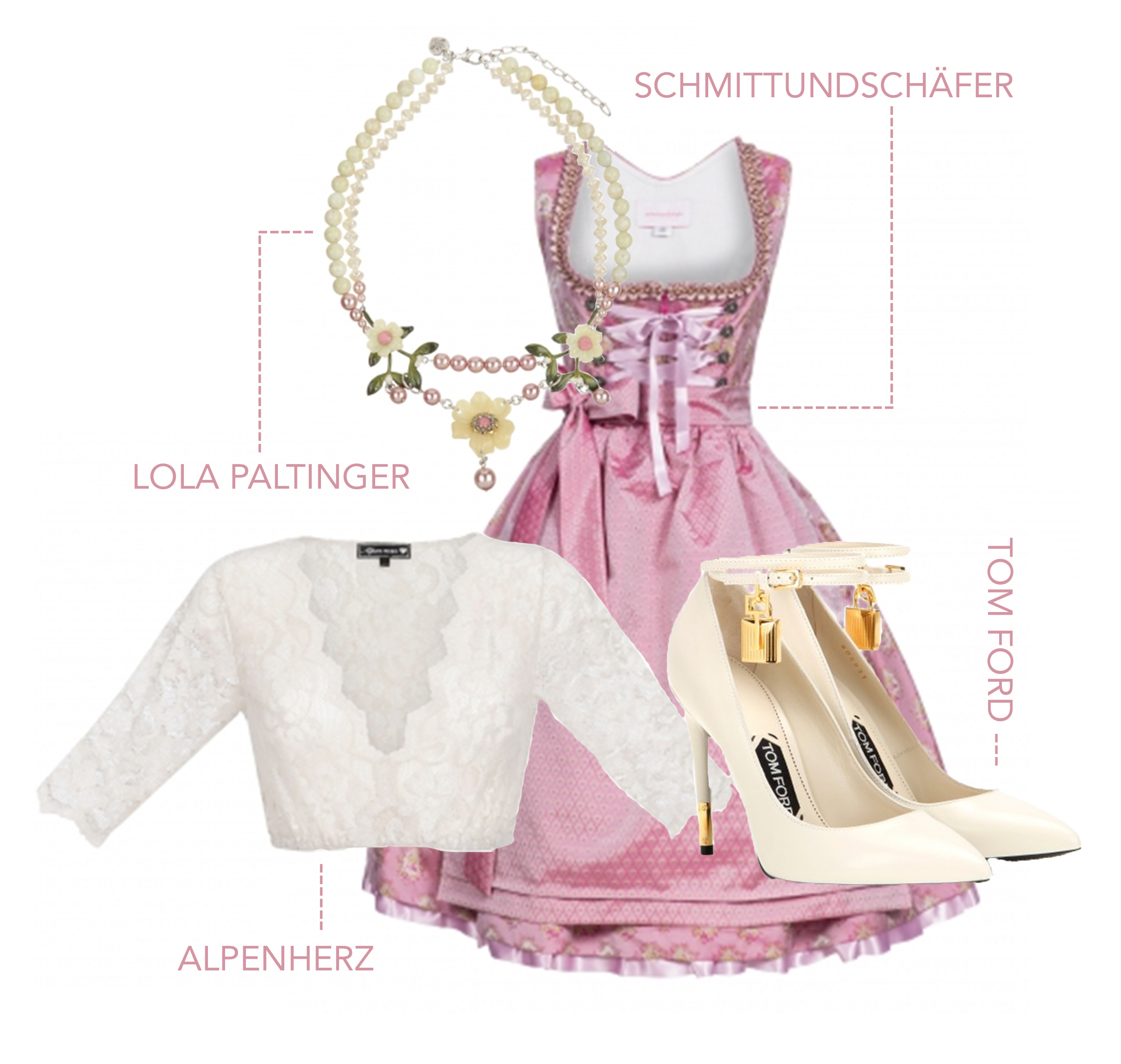 SchmittundSchäfer-rosa-Dirndl