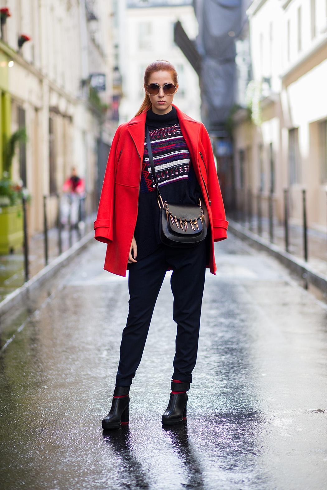Fashionblog-Fashionblogger-Fashion-Blog-Blogger-Lifestyle-Lindarella-Linda-Sorel-PFW-Comptoir_de_cotonniers-roter_Mantel-Halfbun-München-Paris-Deutschland-159