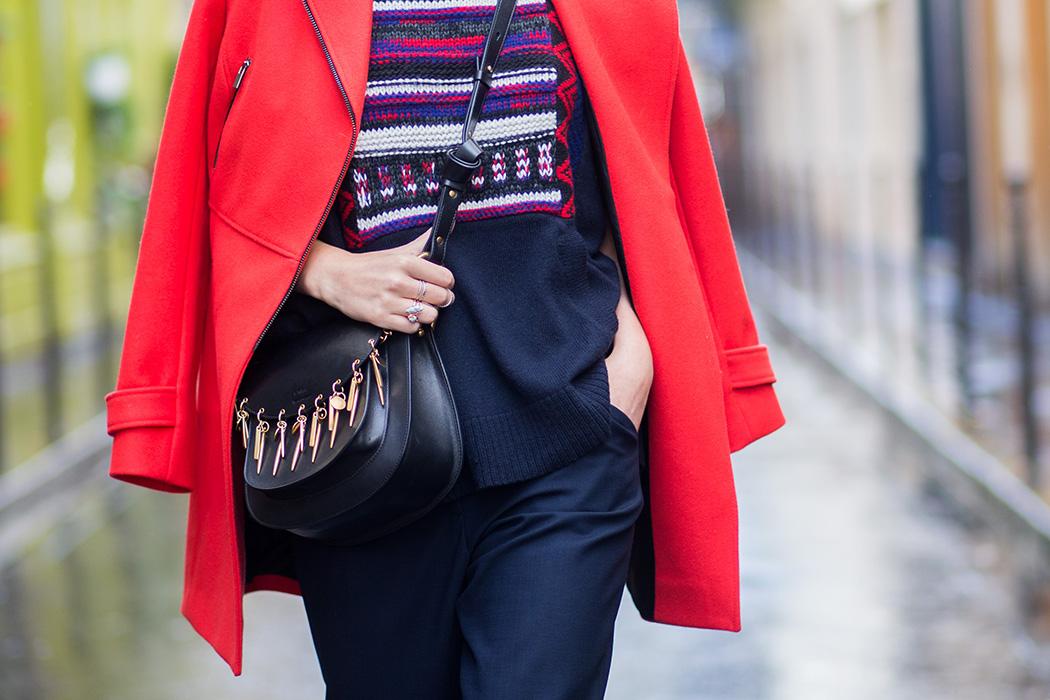 Fashionblog-Fashionblogger-Fashion-Blog-Blogger-Lifestyle-Lindarella-Linda-Sorel-PFW-Comptoir_de_cotonniers-roter_Mantel-Halfbun-München-Paris-Deutschland-119