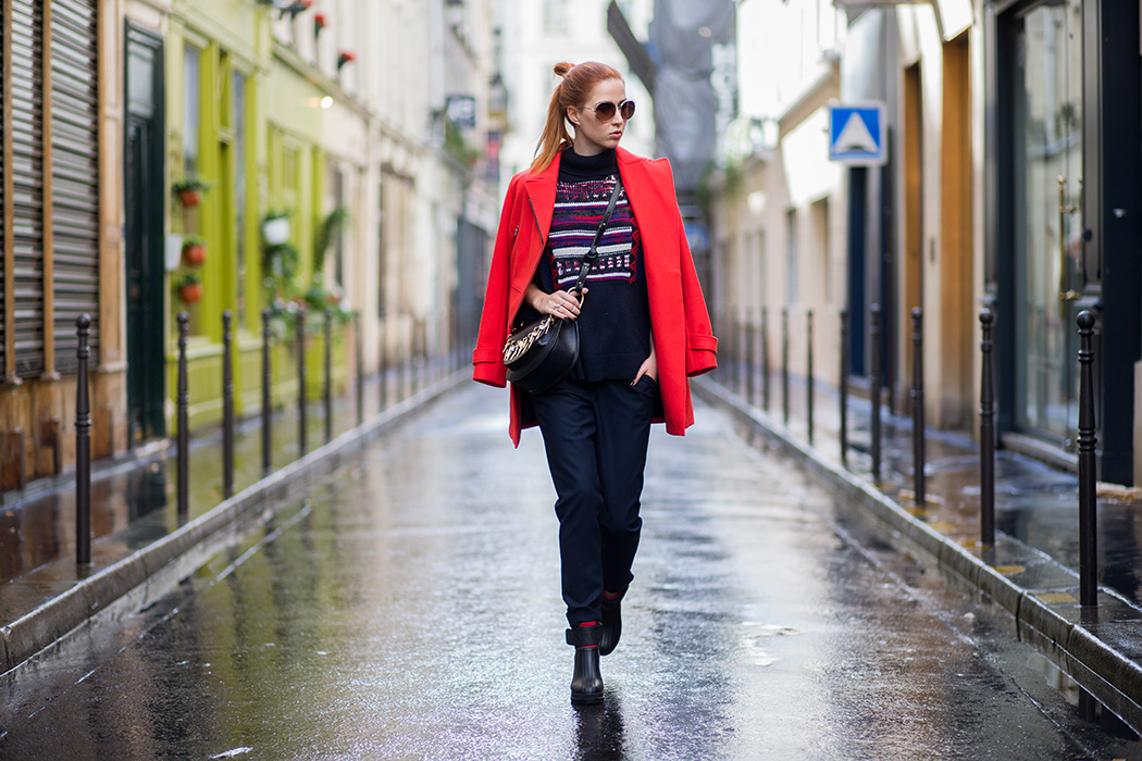 Fashionblog-Fashionblogger-Fashion-Blog-Blogger-Lifestyle-Lindarella-Linda-Sorel-PFW-Comptoir_de_cotonniers-roter_Mantel-Halfbun-München-Paris-Deutschland-120