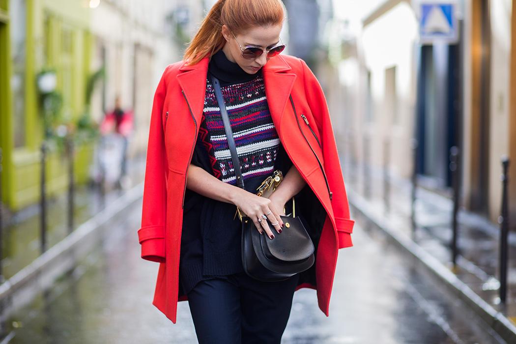 Fashionblog-Fashionblogger-Fashion-Blog-Blogger-Lifestyle-Lindarella-Linda-Sorel-PFW-Comptoir_de_cotonniers-roter_Mantel-Halfbun-München-Paris-Deutschland-127