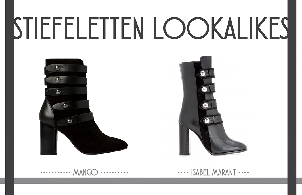 Isabel-Marant-Boots-Ankleboots-schwarz-Militarylook-Lookalikes-Kopie-Mango