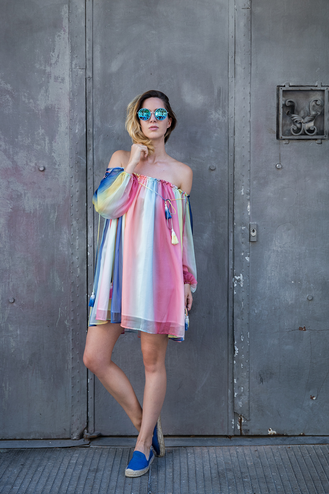 Fashionblog-Fashionblogger-Fashion-Blog-Blogger-Modeblog-Modeblogger-Mode-Rainbow-Dress-Chloe-Regenbogen-Lindarella-2