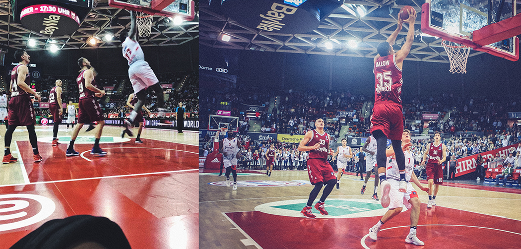 basketball spiel länge